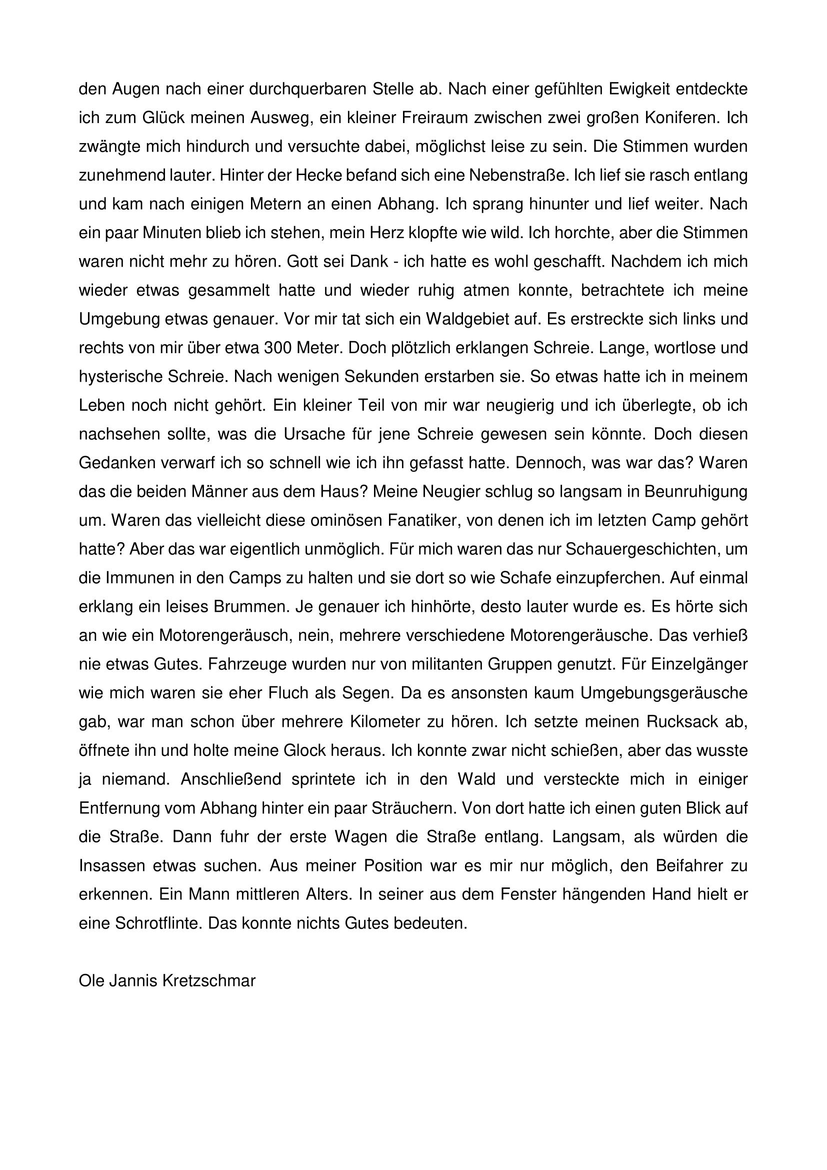 Endzeit (Teil 2)