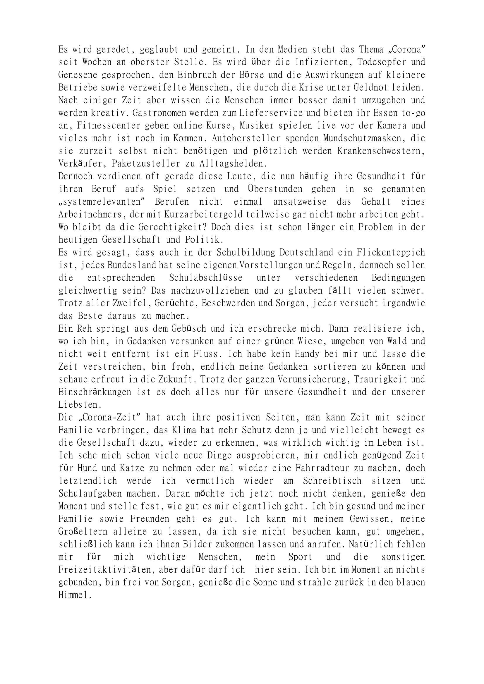 Gedankenwirbel (Teil 2)